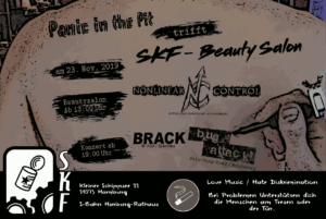 Beautysalon am 23.11.2019 in der Sauerkrautfabrik Harburg