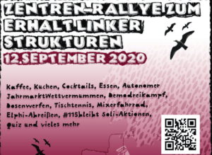 Zentren-Rallye durch Hamburg